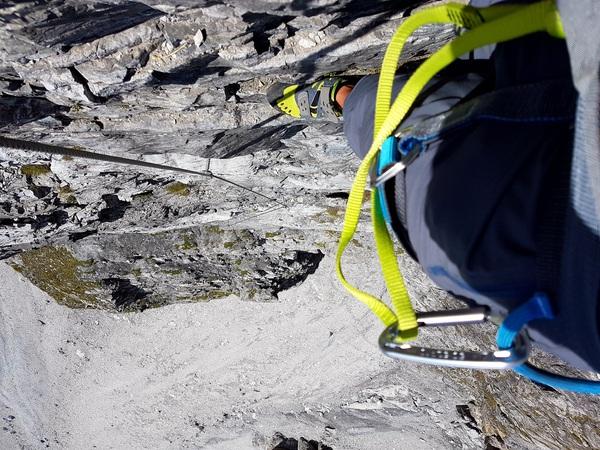 Klettersteig Set Gebraucht : Der mittelrhein klettersteig bei boppard am rhein erweiterte tour