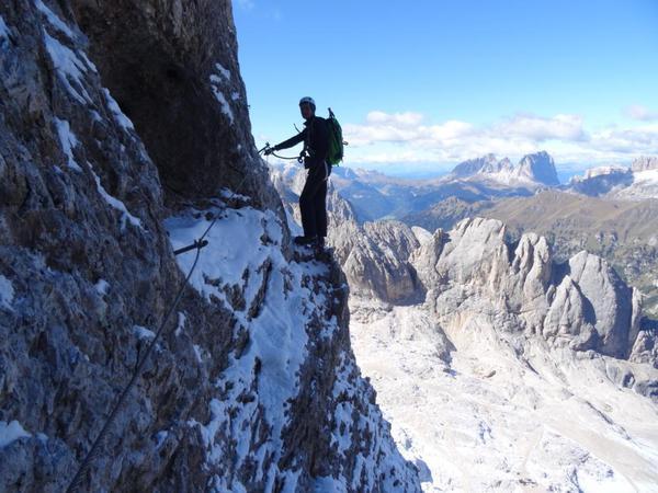 Klettersteig Magnifici Quattro : Klettersteig.de klettersteig beschreibung via eterna brigata