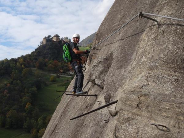 Klettersteig Naturns Knott : Klettersteig.de klettersteig beschreibung hoachwool