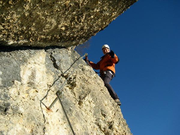 Klettersteig Känzele : Klettersteig beschreibung känzele