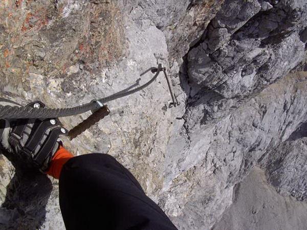 Klettersteig Bandschlinge : Klettersteig beschreibung skywalk
