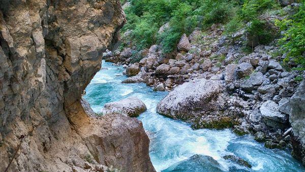 Klettersteig Verdon : Klettersteig beschreibung sentier de l´imbut