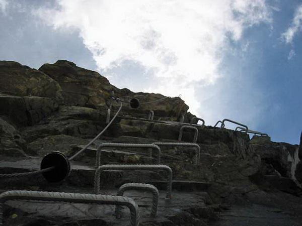 Klettersteig Piz Trovat : Klettersteig beschreibung piz