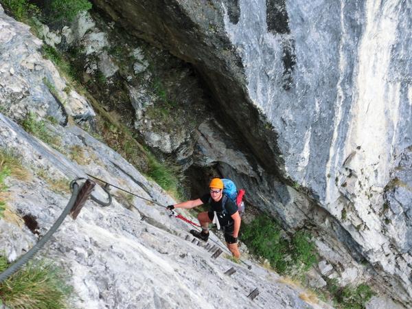 Klettersteig Set Gebraucht : Klettersteig beschreibung watzmann Überschreitung