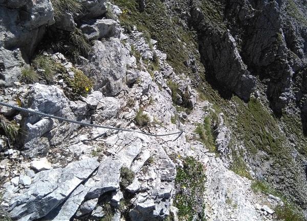 Klettersteig Zauchensee : Klettersteig beschreibung steinfeldspitzsteig