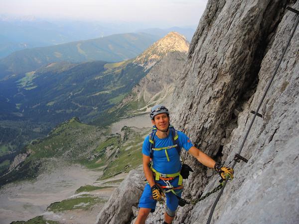 Klettersteig Austria : Klettersteig beschreibung johann
