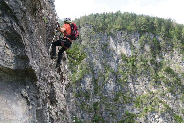 Klettersteig Lienz : Klettersteig beschreibung endorphin