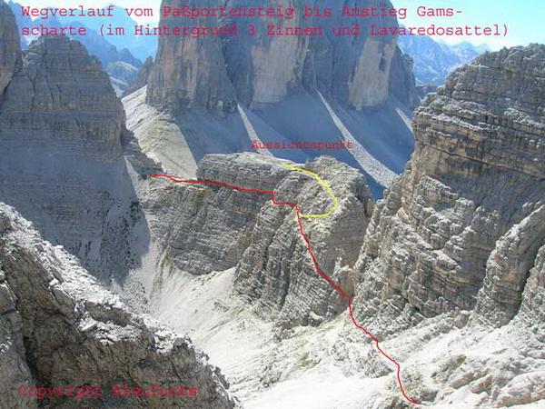 Klettersteig Paternkofel : Sextner dolomiten u klettersteig tour geführt wandern in den alpen