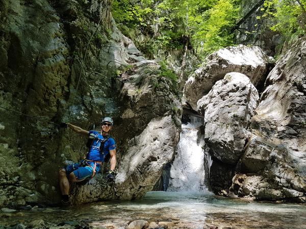 Klettersteig Soca Quelle : Gps track höhenprofil
