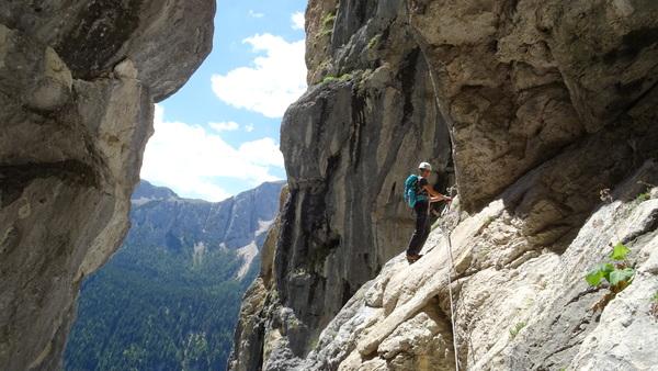 Klettersteig Magnifici Quattro : Klettersteig.de klettersteig beschreibung via ferrata i magnifici 4