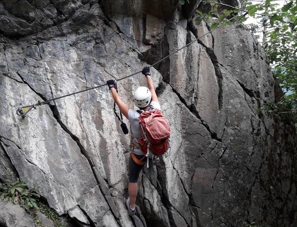 Klettersteig Wachau : Klettersteig beschreibung danielsberg