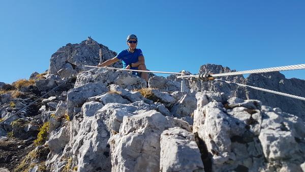 Klettersteig Nordkette : Klettersteig.de klettersteig beschreibung geierwally