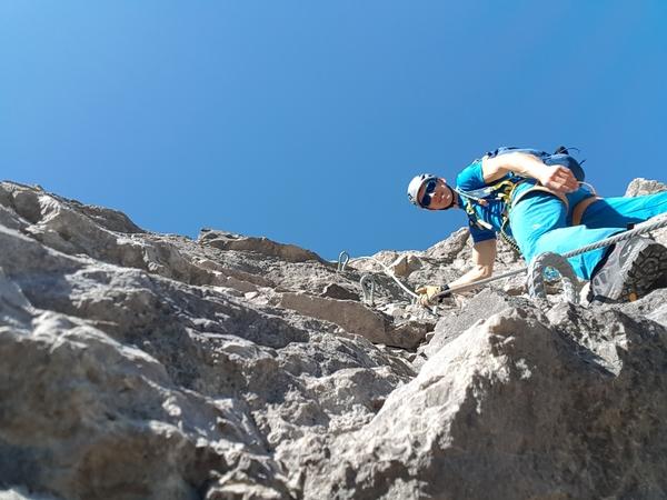 Klettersteig Jochpass : Klettersteig beschreibung ostrachtaler