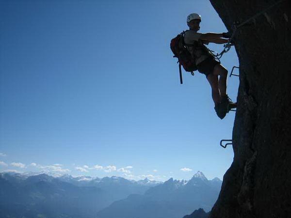 Klettersteig Untersberg : Klettersteig.de klettersteig beschreibung berchtesgadener