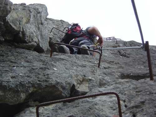 Klettersteig Däumling : Klettersteig.de klettersteig beschreibung torre clampil