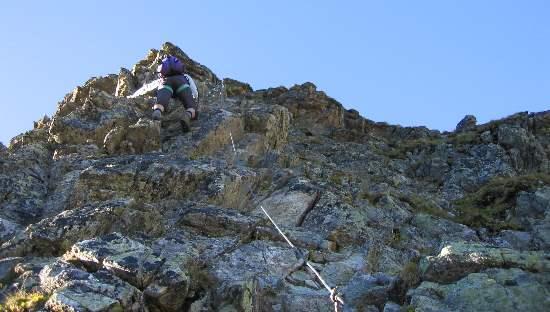 Klettersteig Nauders : Klettersteig beschreibung goldweg
