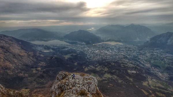 Klettersteig Comer See : Klettersteig beschreibung via ferrata gamma