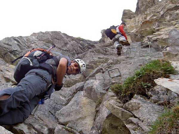 Klettersteig Gerlossteinwand : Klettersteig beschreibung gerlossteinwand