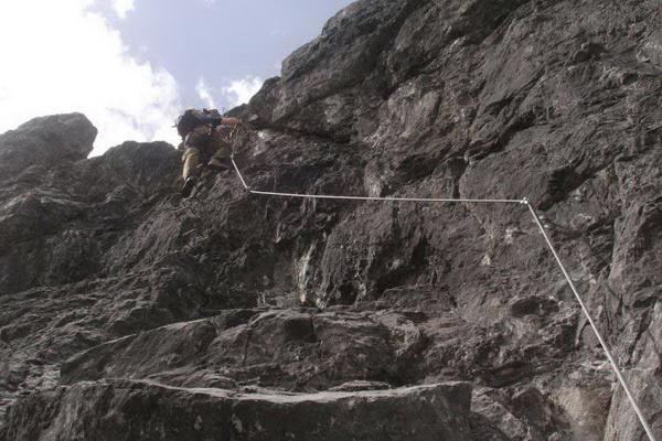 Klettersteig Saulakopf : Klettersteig beschreibung saulakopf