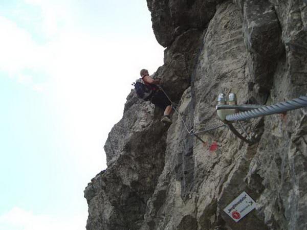 Mindelheimer Klettersteig Unfall : Klettersteig.de klettersteig beschreibung salewa
