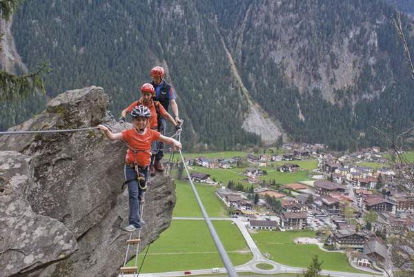 Klettersteig Huterlaner : Klettersteig beschreibung huterlaner