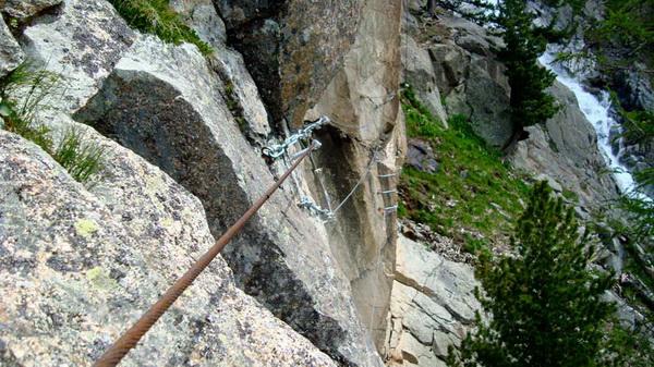 Klettersteig La Resgia : Klettersteig.de klettersteig beschreibung la resgia