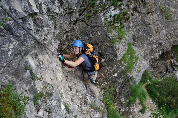 Klettersteig De : Via ferrata de fort queyras ceillac arvieux dans les hautes alpes