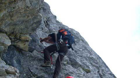Klettersteig Tannheimer Tal : Klettersteig beschreibung