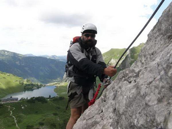 Klettersteig Lachenspitze Bilder : Klettersteig lachenspitze vom vilsalpsee aus landschaften