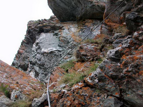 Klettersteig Falkert : Klettersteig beschreibung falkensteig