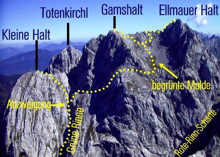 Klettersteig Wilder Kaiser Ellmauer Halt : Klettersteig beschreibung kaiserschützensteig