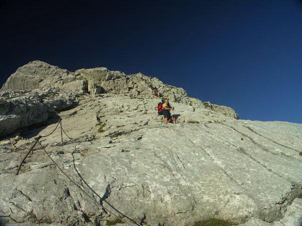 Klettersteigset Watzmann : Klettersteig beschreibung watzmann Überschreitung