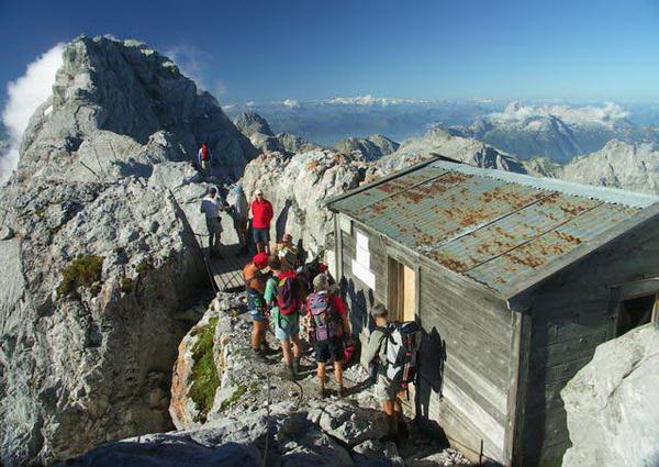 Klettersteigset Unterschiedlich Lang : Klettersteig.de klettersteig beschreibung watzmann Überschreitung