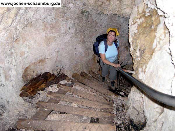 Klettersteig Untersberg : Klettersteig beschreibung mittagschartensteig