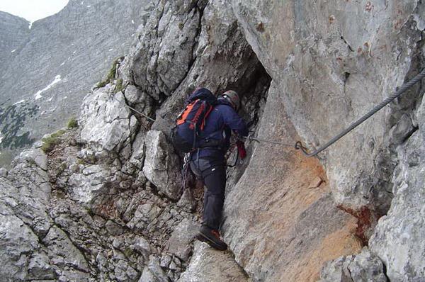 Klettersteig Speer : Klettersteig beschreibung wildental
