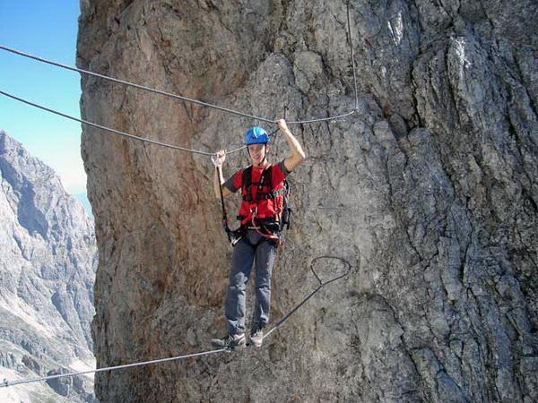 Klettersteig Set Gebraucht : Klettersteig beschreibung königsjodler