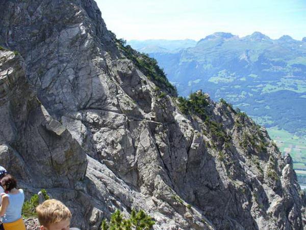Klettersteig Liechtenstein : Klettersteig beschreibung fürstensteig