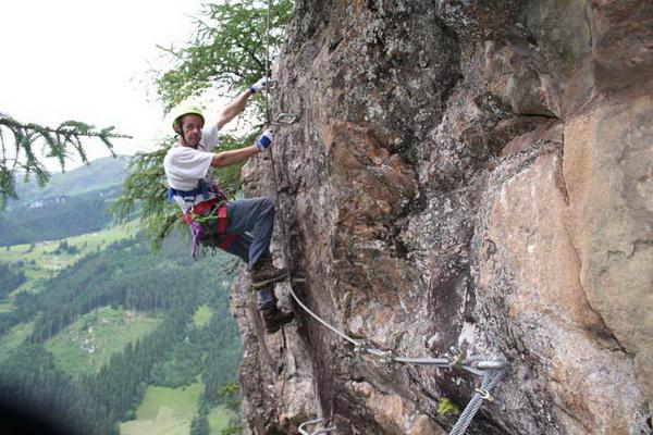 Klettersteig Nasenwand : Klettersteig.de klettersteig beschreibung nasenwand