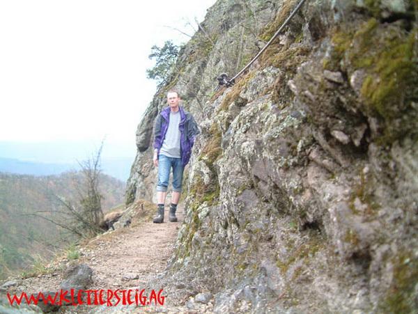Klettersteig Wachau : Klettersteig beschreibung vogelbergsteig