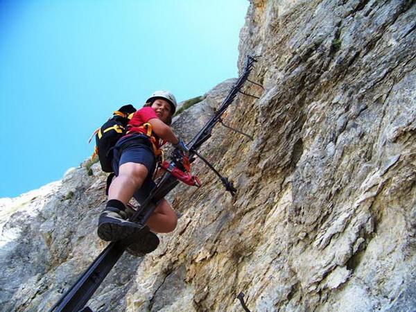 Klettersteig Niederösterreich : Klettersteig beschreibung hans von haid