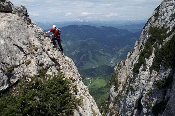 Klettersteig Hochlantsch : Klettersteig beschreibung franz scheikl