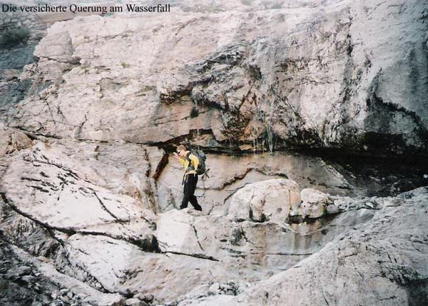 Klettersteig Lünersee : Klettersteig beschreibung böser tritt steig