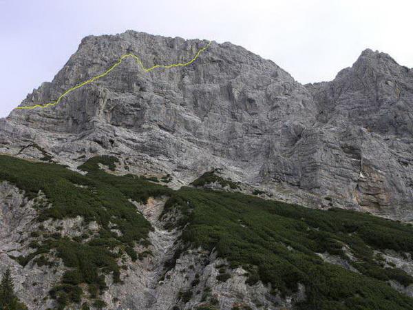 Klettersteig Buchstein : Klettersteig beschreibung buchstein