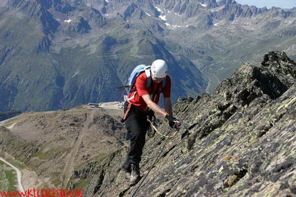 Klettersteig Kinder : Klettern im kleinwalsertal klettersteige bergabenteuer