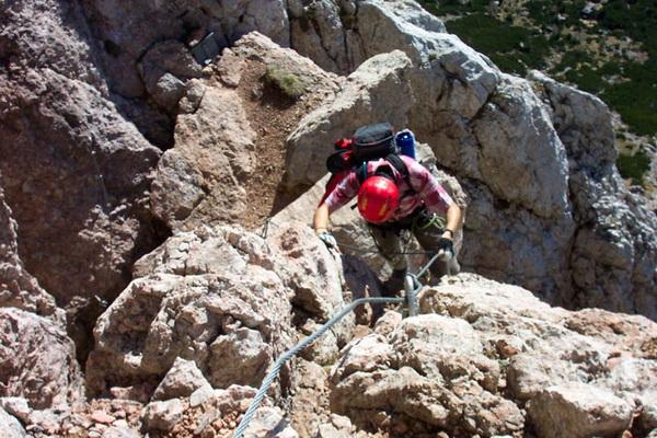 Klettersteig Ferrata : Alpspitze m alpspitz ferrata nordwand klettersteig garmisch