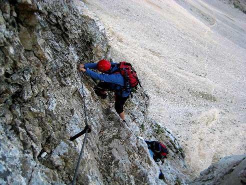 Klettersteig Soca Quelle : Klettersteig beschreibung bavski