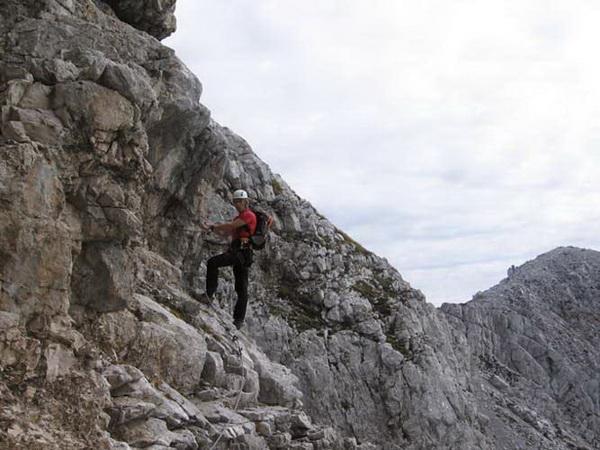Klettersteig Soca Quelle : Klettersteig.de klettersteig beschreibung hohe ponza