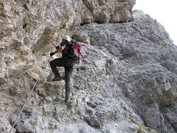Klettersteig De : Klettersteig beschreibung tschierspitzsteig