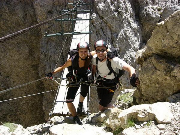 Klettersteig Griffen : Klettersteige korsika via ferrata