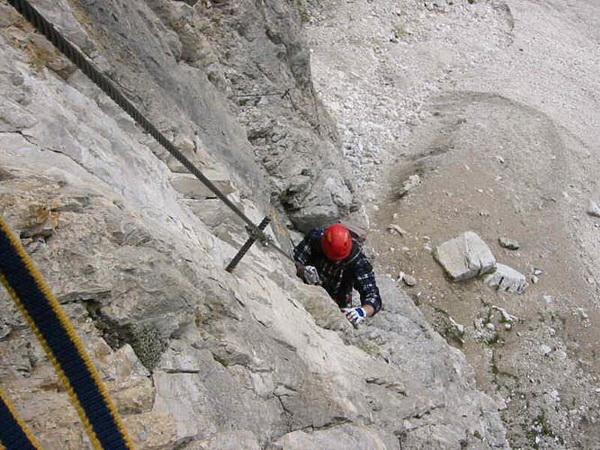 Klettersteig Piz Boe : Klettersteig beschreibung cesare